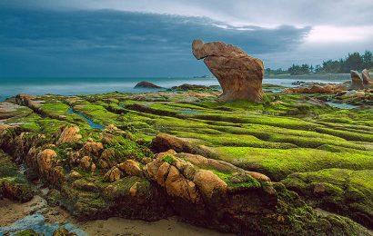Cảnh đẹp như cổ tích ở biển Cổ Thạch Tuy Phong Bình Thuận