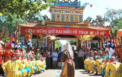 Lễ hội Văn hóa du lịch dinh Thầy – Thím góp phần phát triển du lịch Bình Thuận