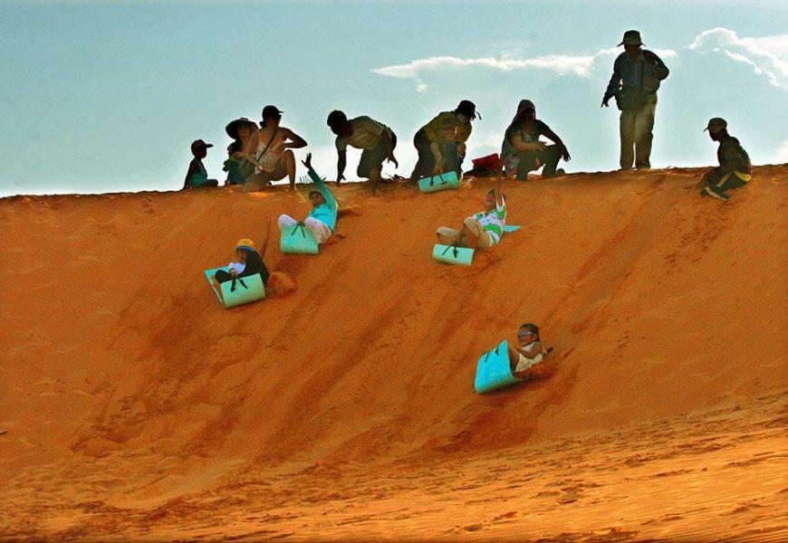 Vui chơi ngày Tết tại Mũi Né